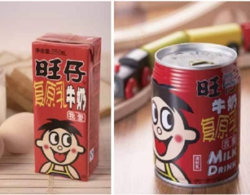 中国旺旺の主要製品、子供用ミルク飲料