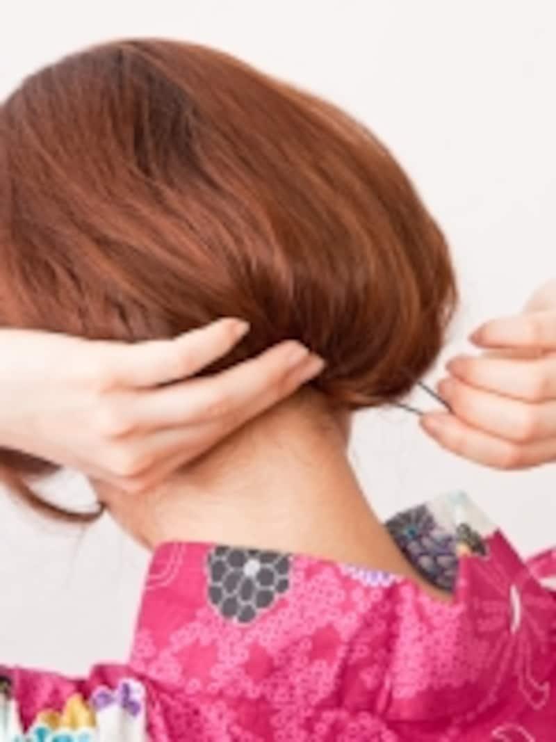 髪が多い人は4~5か所が目安