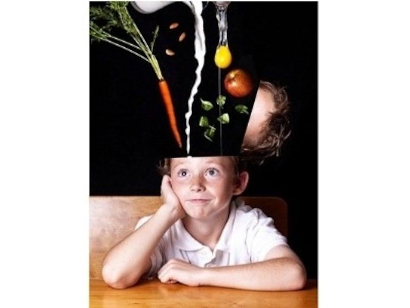 心の栄養をあらわすイメージ画像