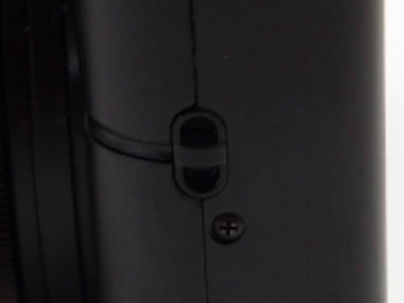 DSC-RX100ストラップホール
