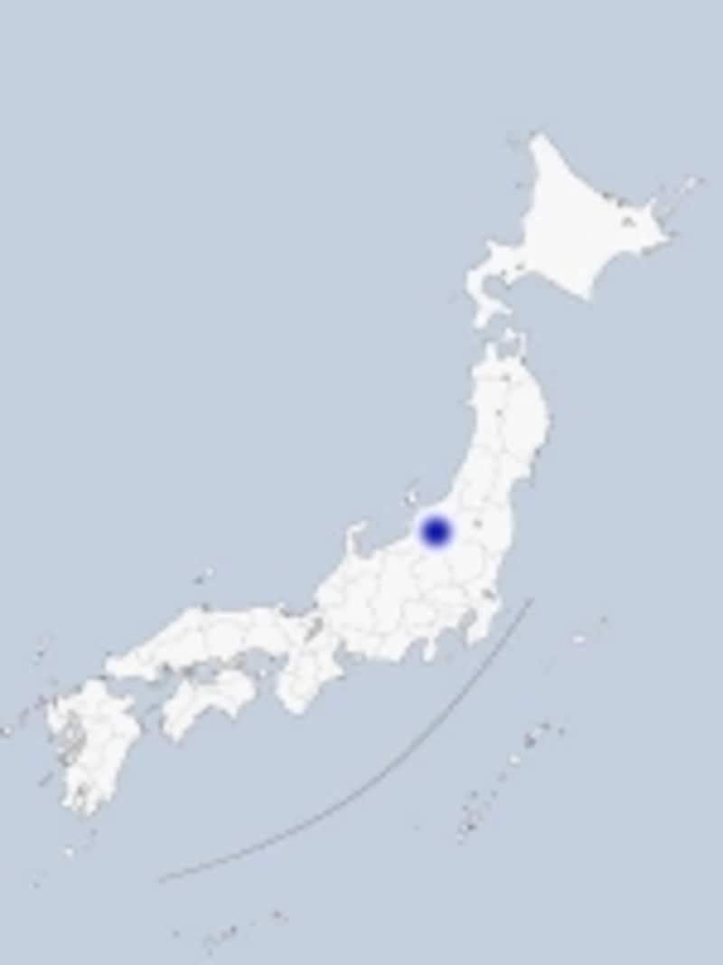 長岡の地図