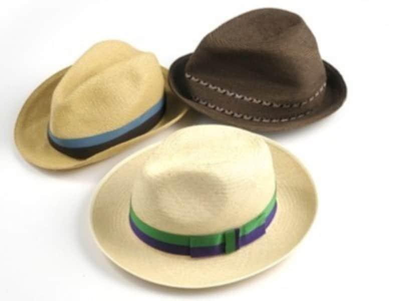 パナマ帽の選び方のコツは顔の形に合わせる