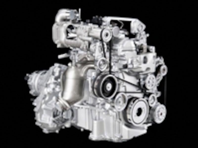 新開発の直噴スーパーチャージャーを搭載した「HR12DDR」エンジン