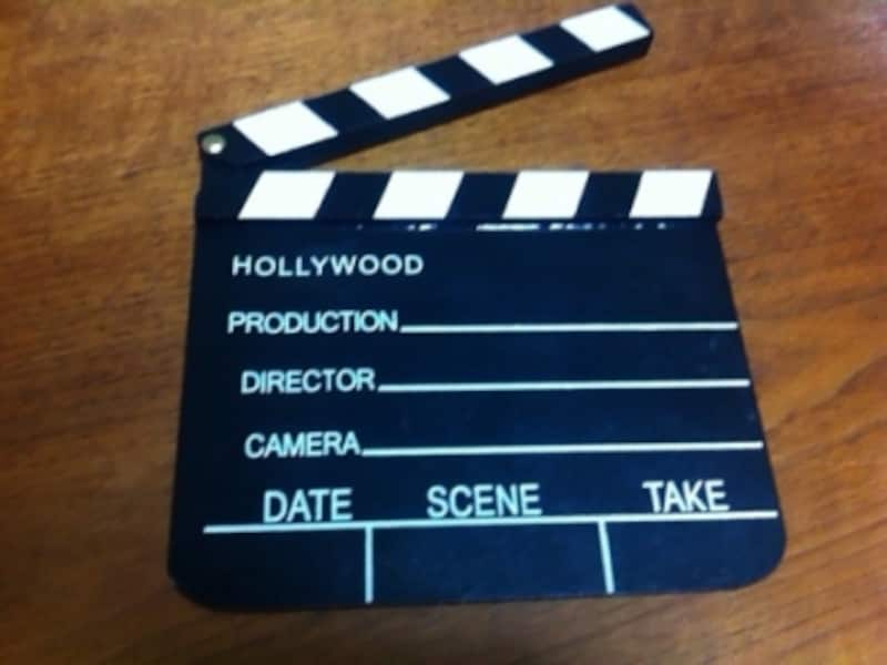 TIGERの映画小道具「カチンコ」