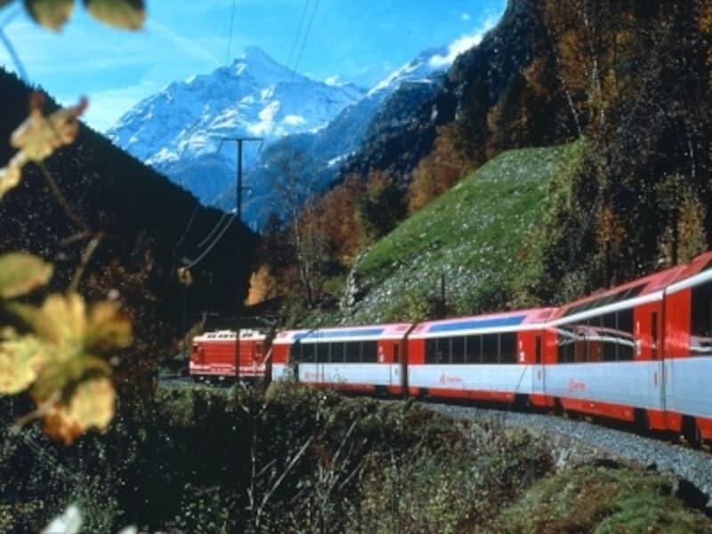 スイスの列車イメージ