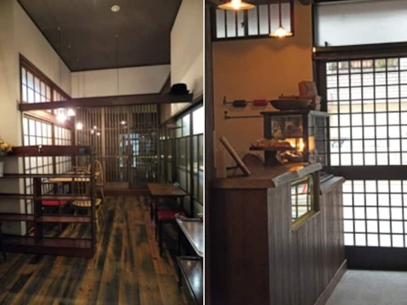 菓子工房ルスルス 浅草店 店内