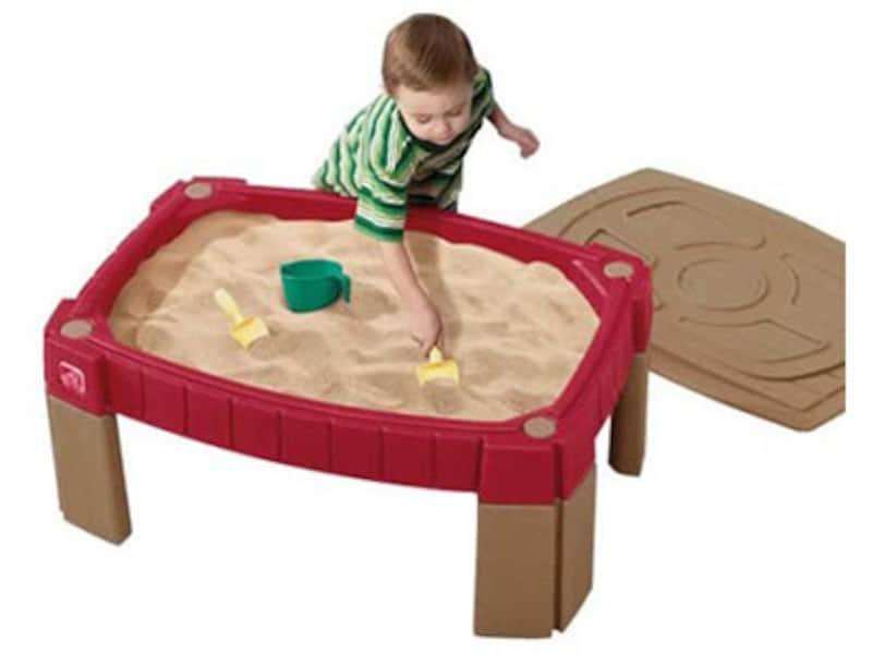 ベランダ遊び・庭で遊べる 室内遊具・大型遊具……サンドテーブル