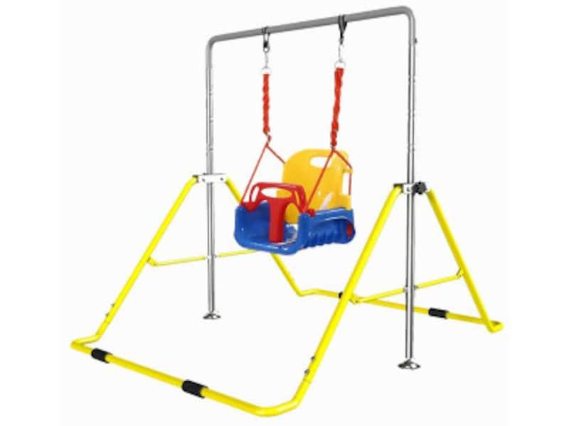 ベランダ遊び・庭で遊べる 室内遊具・大型遊具……ブランコ付き鉄棒