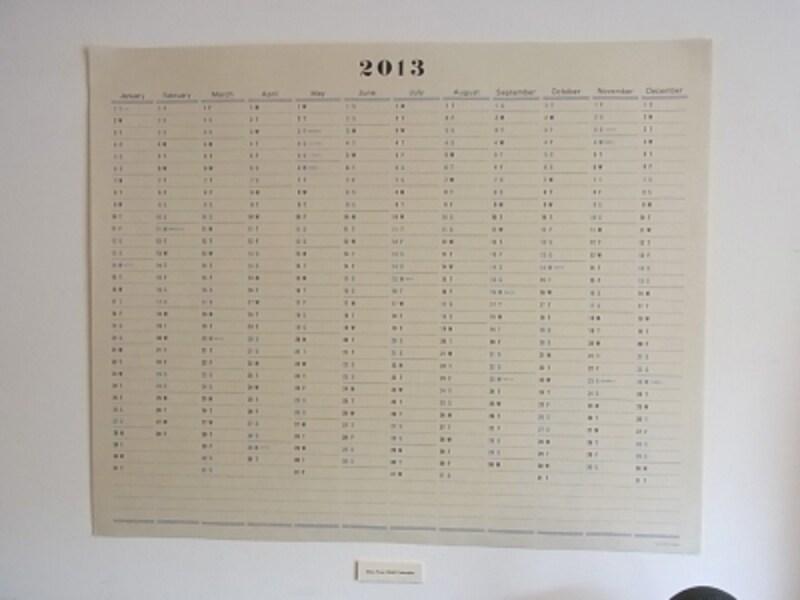 1イヤーundefinedウォールカレンダー