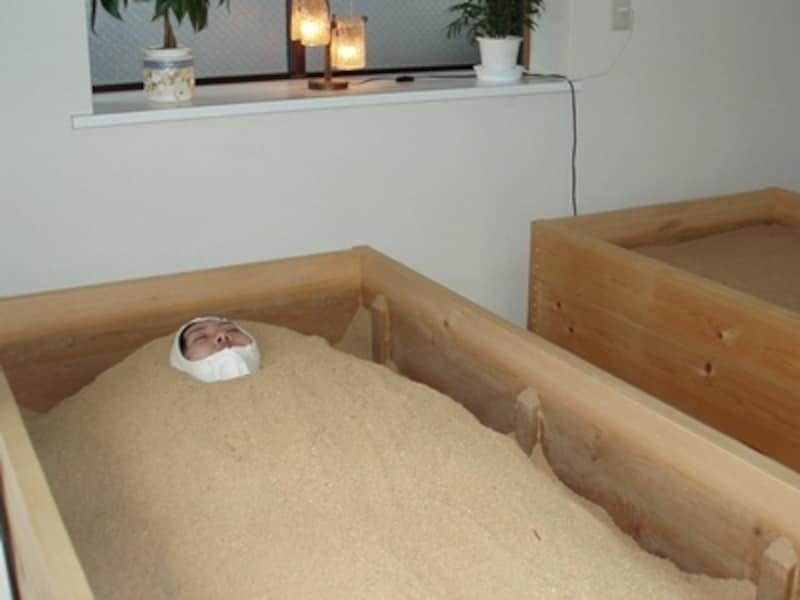 心地よい汗をかける酵素風呂