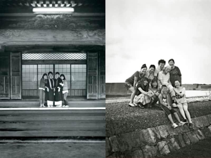 右は2011年の祖父母と孫編に出演した家族、左は同母娘編に出演した家族