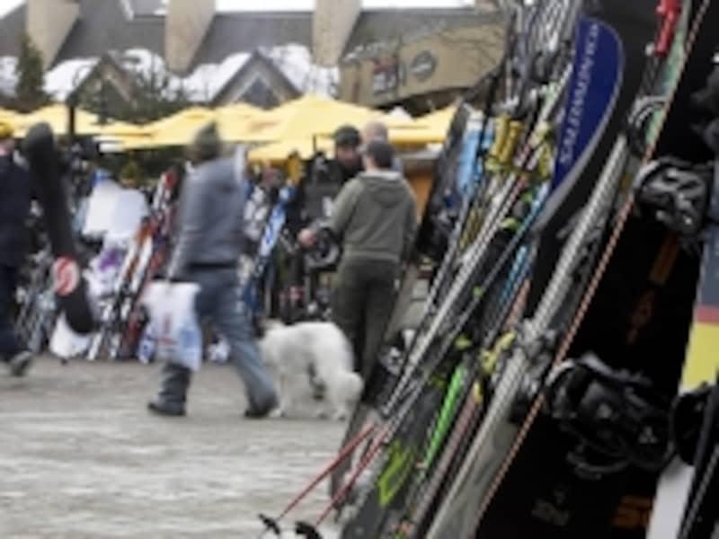 盗難も珍しくないので、レンタルの際、盗難保険の有無についても要確認(C)TourismBC/RandyLincks