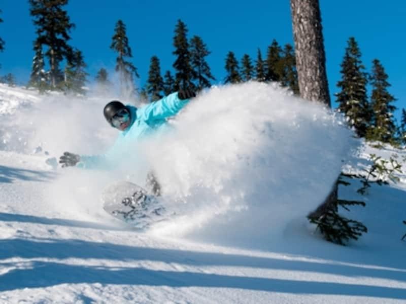 広大なゲレンデで、ダイナミックに滑るのがカナダ流undefined(C)TourismWhistler/MikeCrane