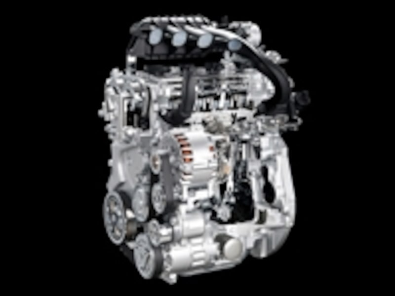 ECOモーター(EnergyControlMotor)搭載の新エンジン