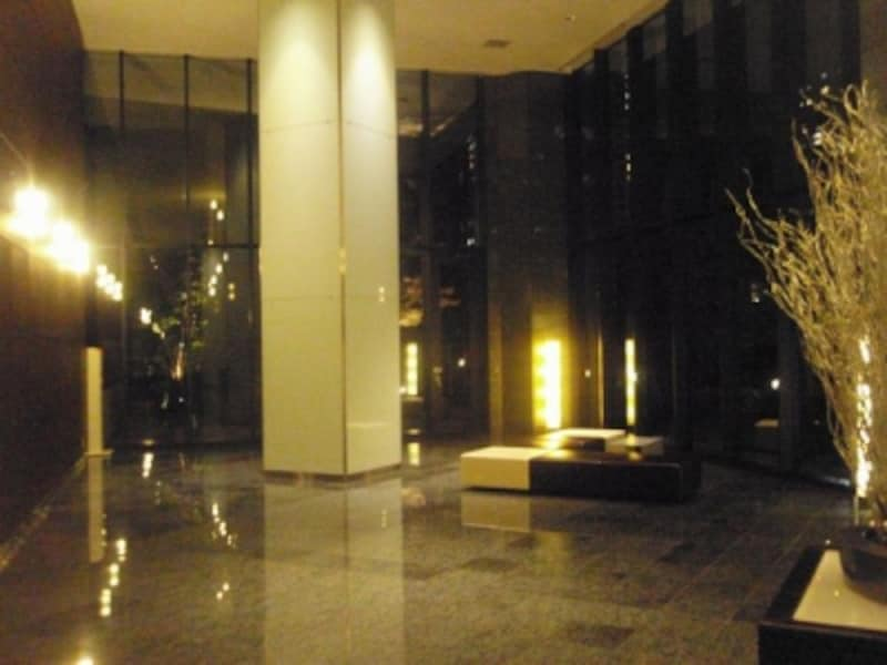 シティタワー品川のエントランスホール