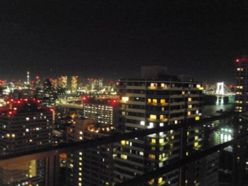 パーティールームからの眺望