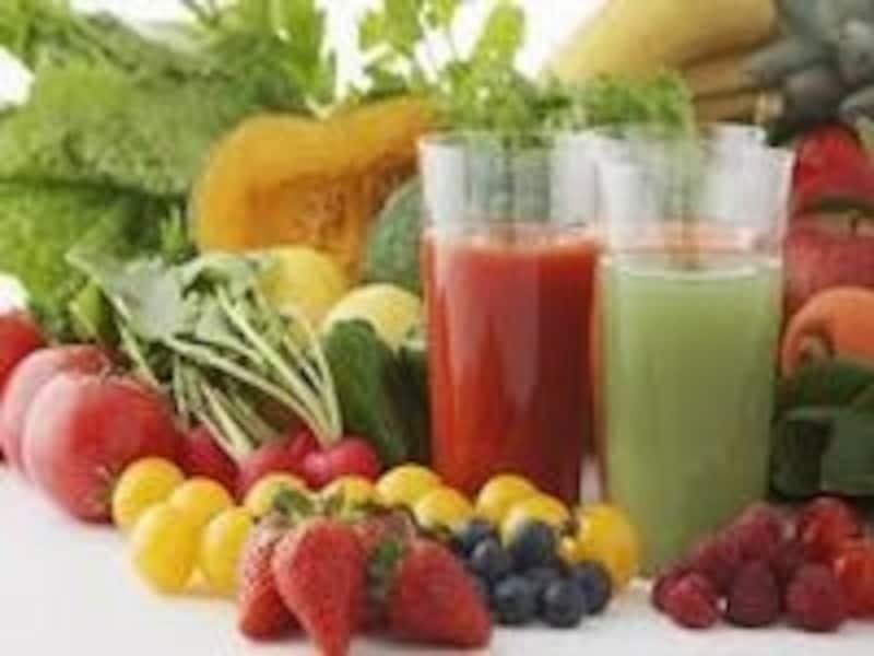 豊富な野菜や果物を摂れるグリーンスムージー