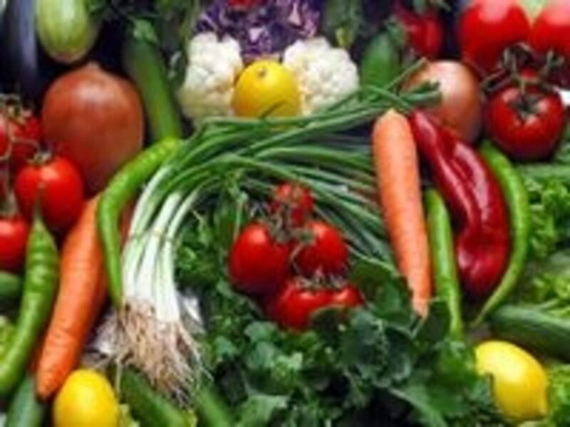 ダイエット効率もアップする無農薬食材