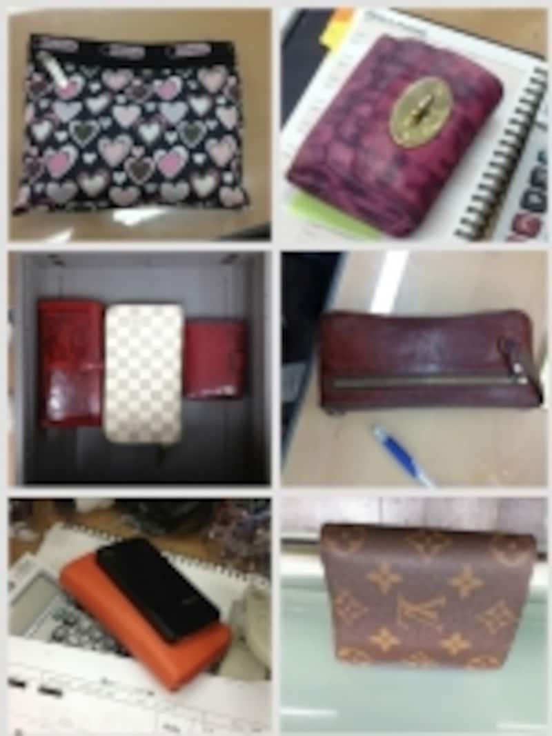 ソウルのあるオフィスのお財布!折るものの持ち主は、あまり現金使ってないタイプ長いものの持ち主は、現金を使ってレシートを集めるタイプ