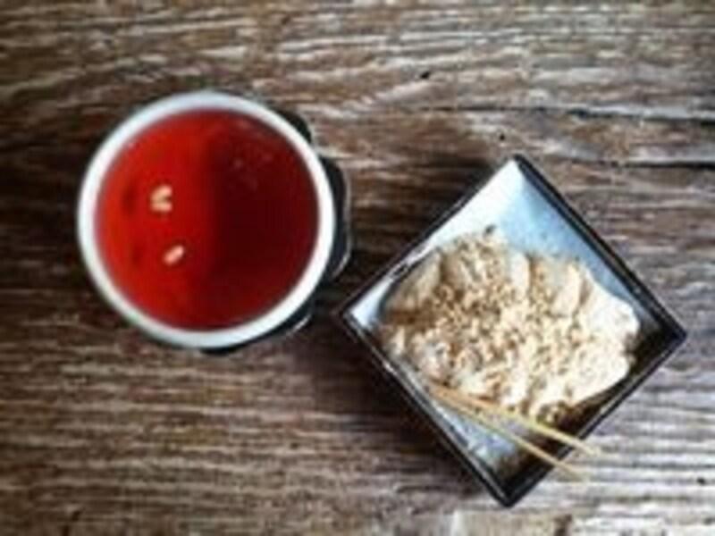 オミジャ茶とホバクインジョルミ。絶対オススメの美味しさ!