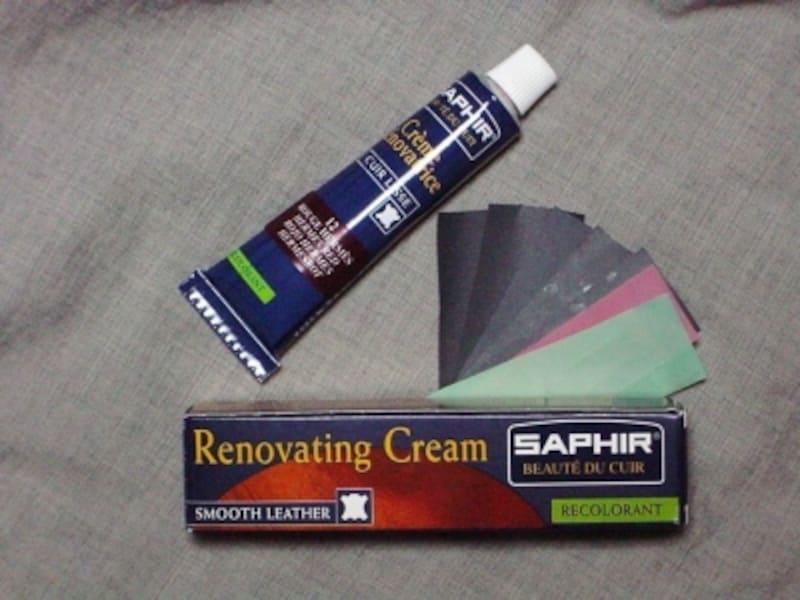 SAPHIRレノベイティングカラー補修クリーム
