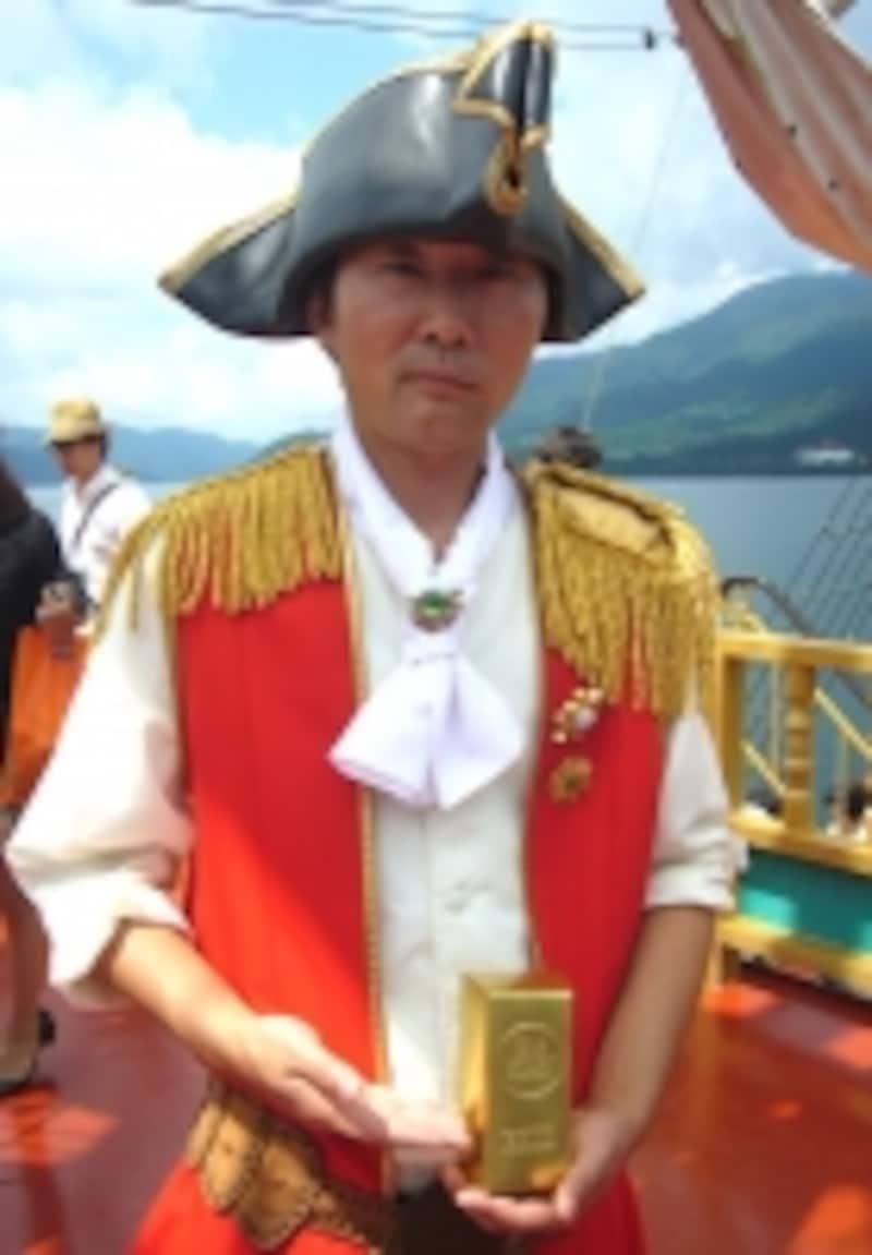 箱根海賊船のスタッフ