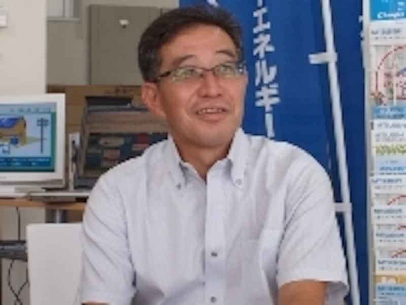 菱田剛志社長