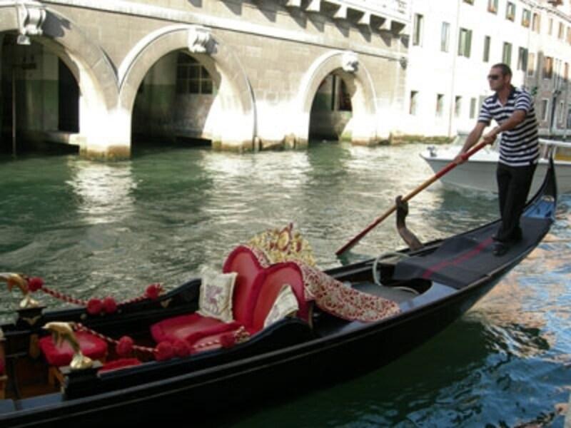 優雅な水上散歩はベネチアの醍醐味