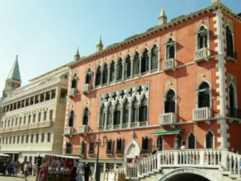 ベネチアを代表する高級ホテル・ダニエリ。一度は泊まってみたい憧れのホテル