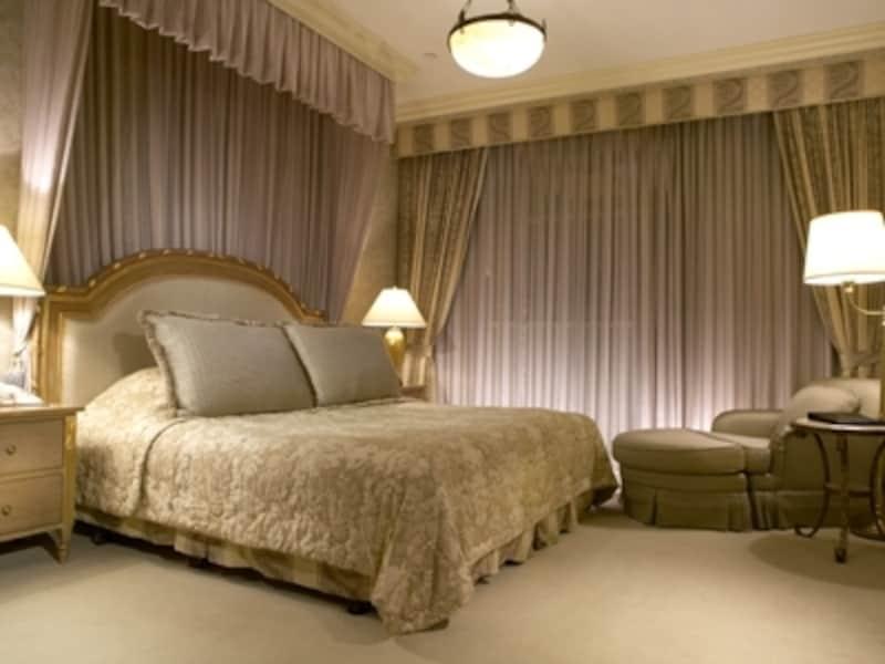 台湾南部にある都市・高雄の高級ホテル高雄漢來ホテルのスイートルーム