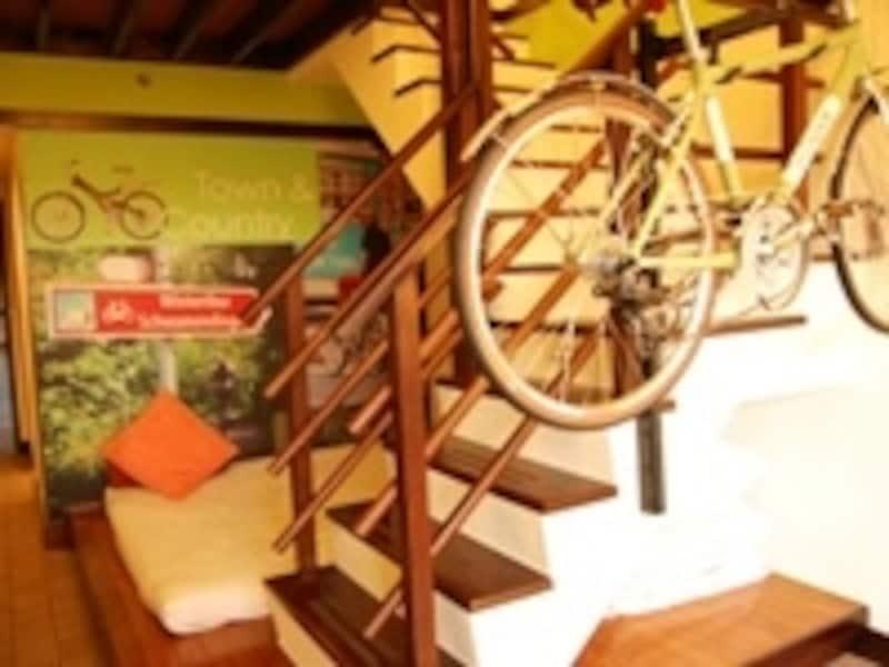 台湾最南端のビーチリゾート墾丁にあるYOHOビーチリゾートにはBIKEHOTELがあり、自転車と一緒に寝ることが出来ます