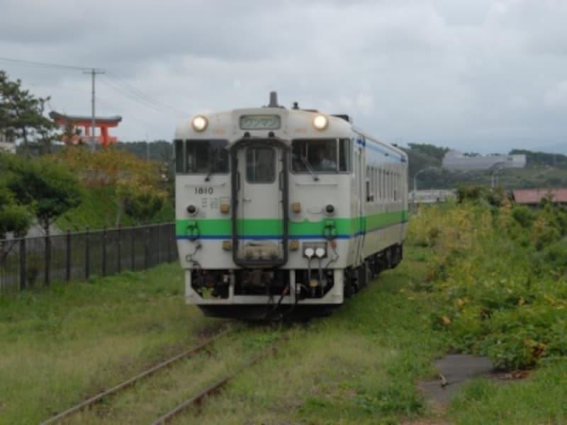 江差線列車