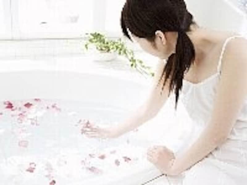 防水仕様なので、バスルームでの使用後はサッと汚れを洗い流して