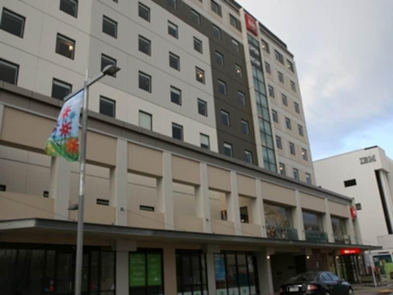 クライストチャーチの中心部で再開したアイビスホテル