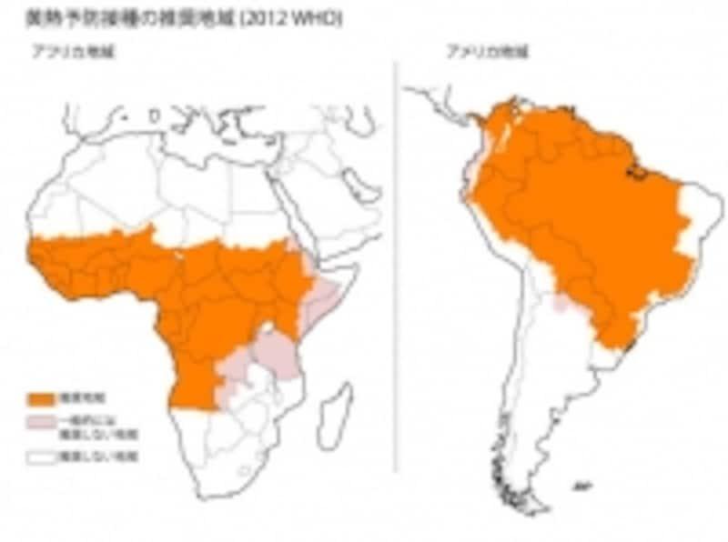予防接種推奨国