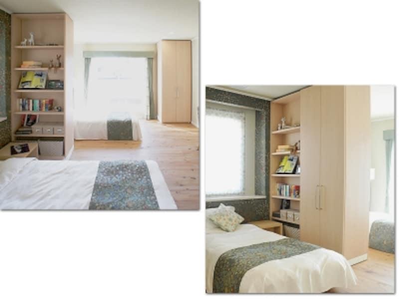 フレキシブルな寝室