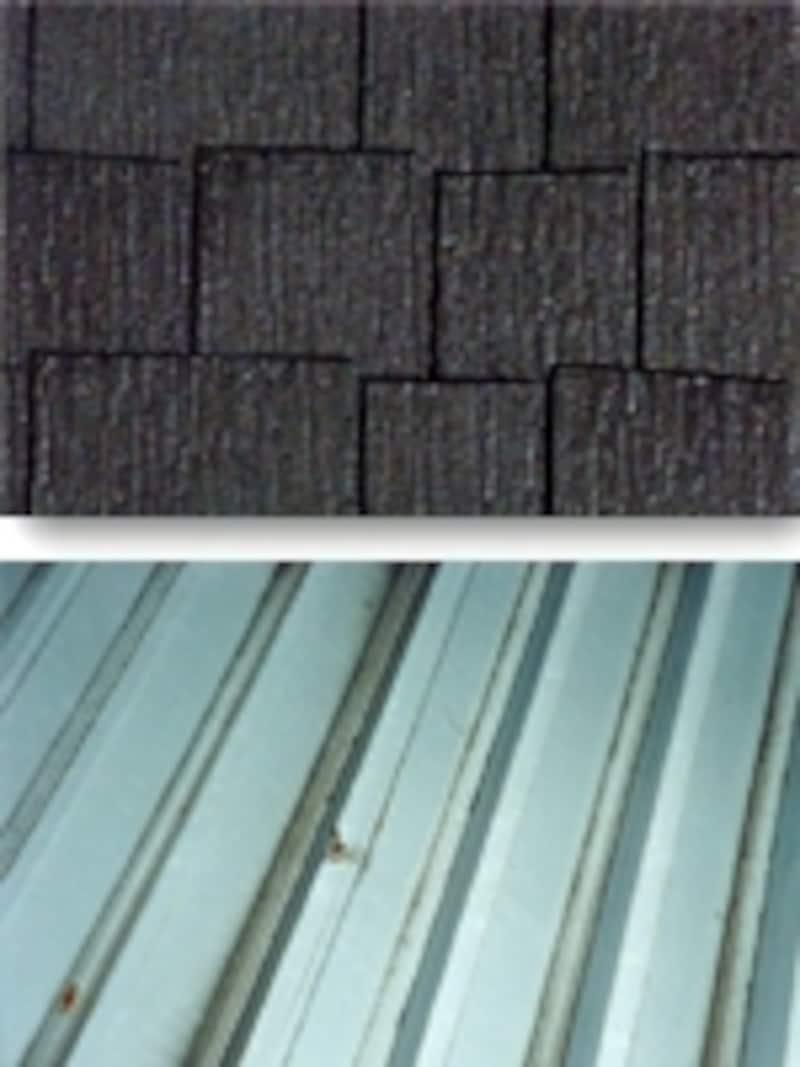 コロニアル・カラーベストなどの薄型塗装瓦やトタン屋根であれば大抵の遮熱塗料が使える。