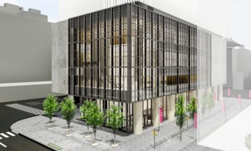 新ブリヂストン美術館外観イメージ