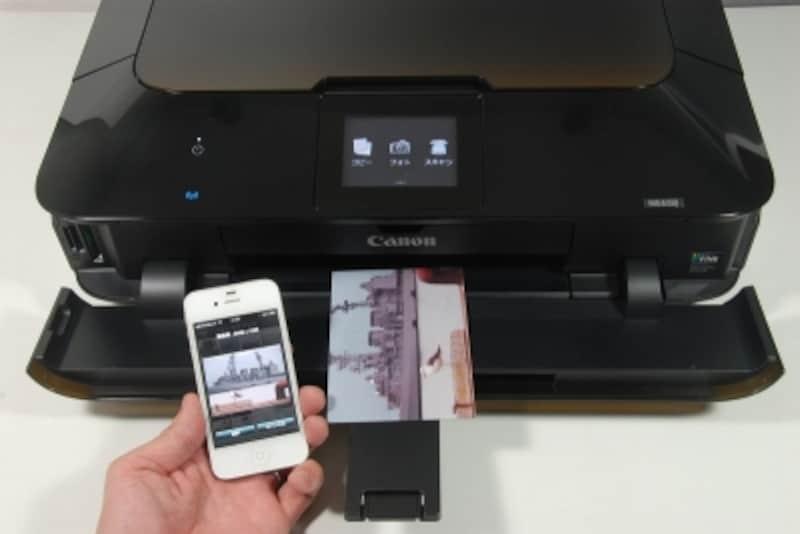 CanonEasy-PhotoPrintから印刷したところ