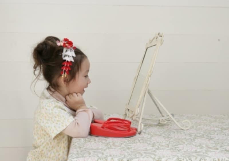 7歳にもなると、着物に楽しみを感じられるようになるので心配事もグンと少なく