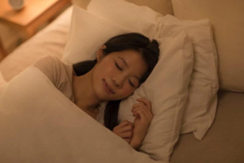 「ああ、ぐっすり寝た!」と満足して目覚めたいですよね