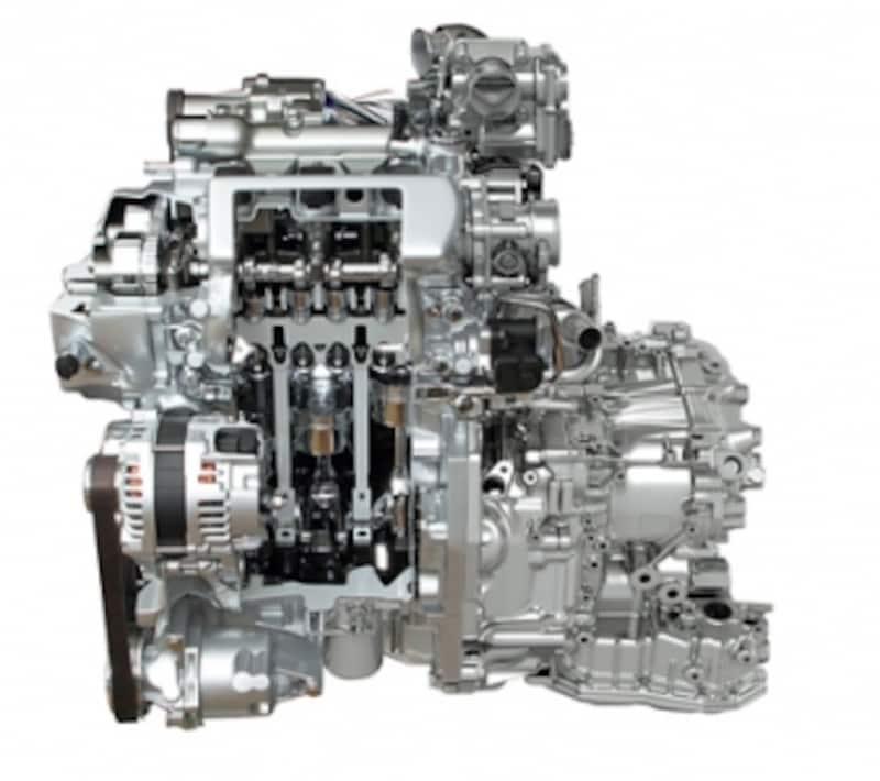 スーパーチャージャーを採用した新開発エンジン「HR12DDR」