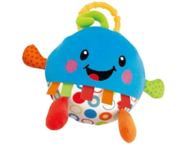 赤ちゃん用の笑い袋。かわいいデザインと笑い声で赤ちゃんの気分も楽しくなります