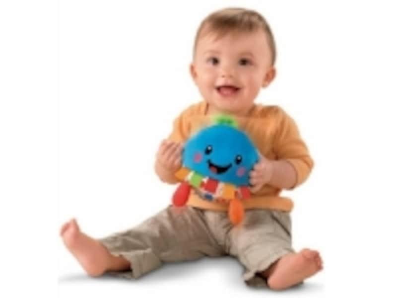 「ソーダ」タイプ。笑い声につられて、赤ちゃんもニコニコ笑顔に!