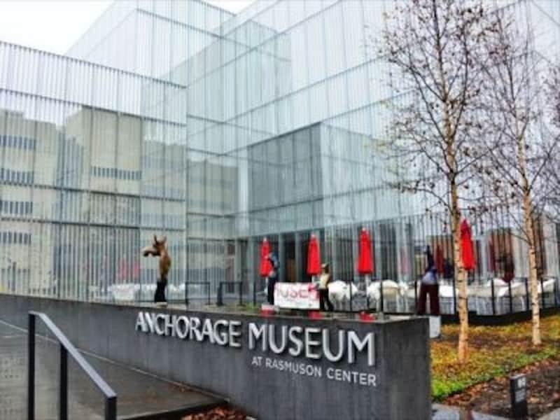 ミュージアムで、アラスカの歴史や文化を学ぼう!