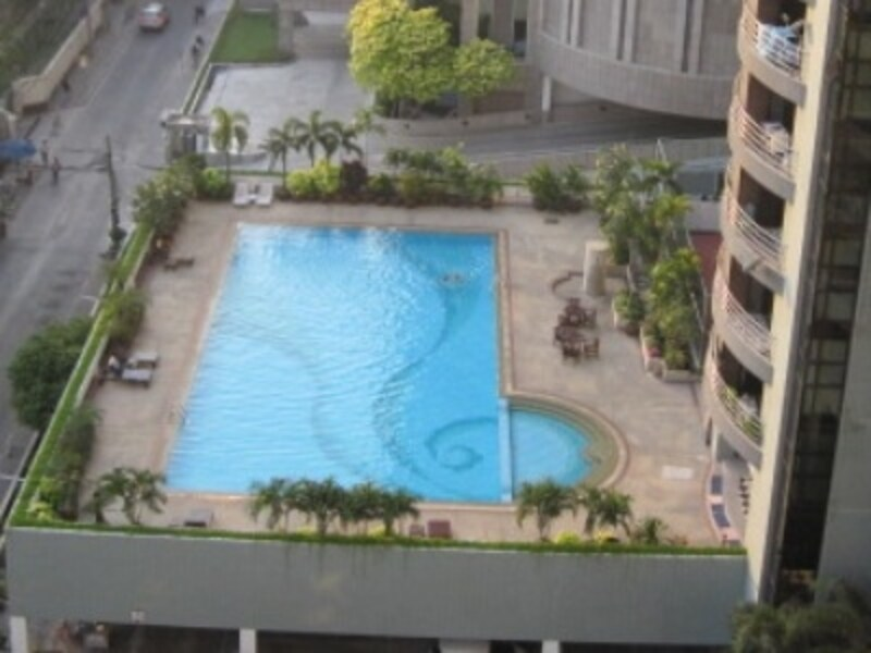 バンコクのホテル,プール