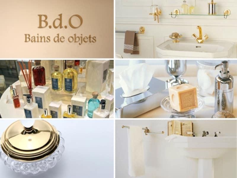 「B.d.O」で見つけた、バスルームを飾る小物たち