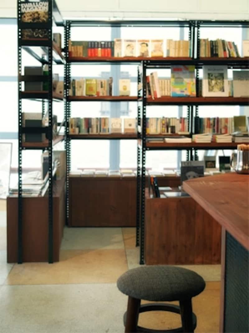 図書館のような一角。