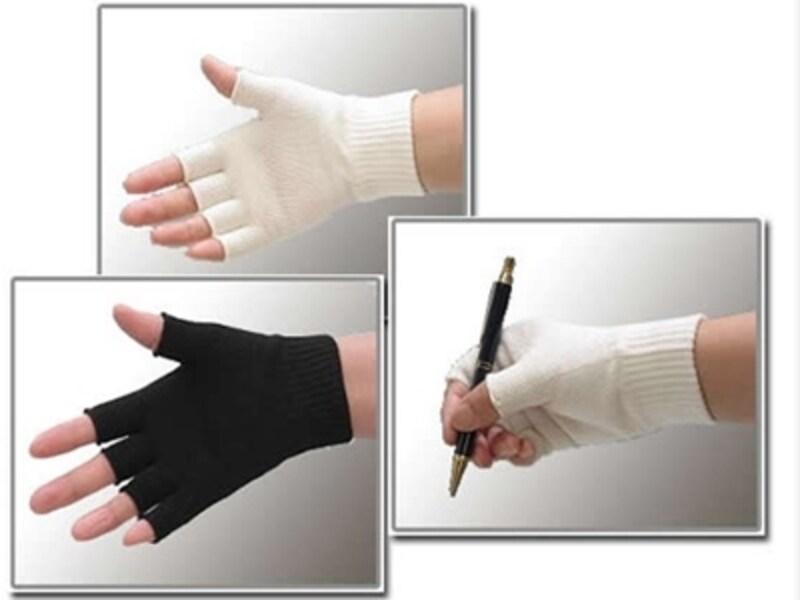 指先が出るタイプの手袋ならストレスフリー