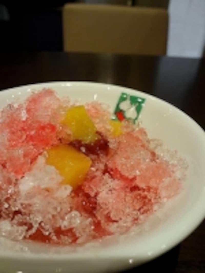バンコクキッチンタイ風かき氷